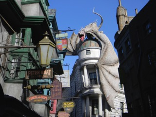 Escape from Gringott's at Universal Studios Orlando